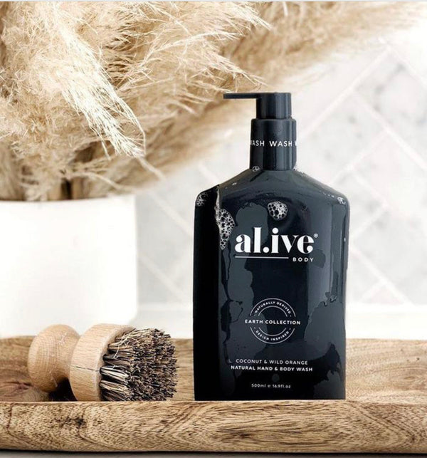 al.ive HAND & BODY WASH - COCONUT & WILD ORANGE