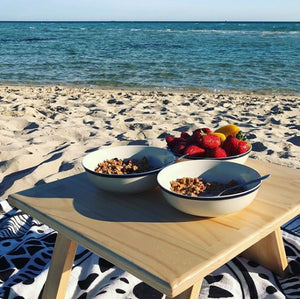 Folding Breakfast Table - Pine
