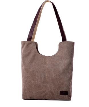 Casual Shoulder Canvas Bag
