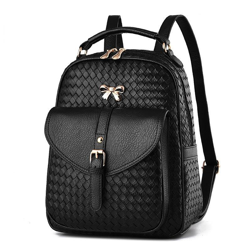 New Oxford Rivet Lady Korean Backpack Bag