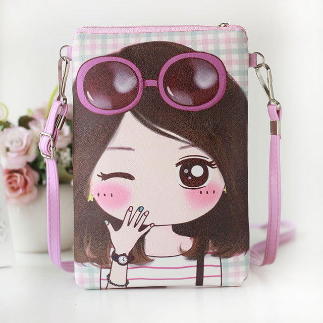 Cute Kids Kindergarten Crossbody Bag