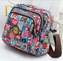 Korean Fashion  Multilayer Crossbody Bag