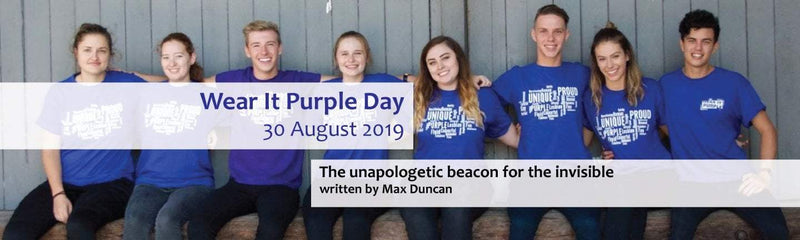 Wear It Purple Day : The unapologetic beacon for the invisible