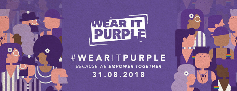 Wear It Purple Day is on 31st Aug 2018