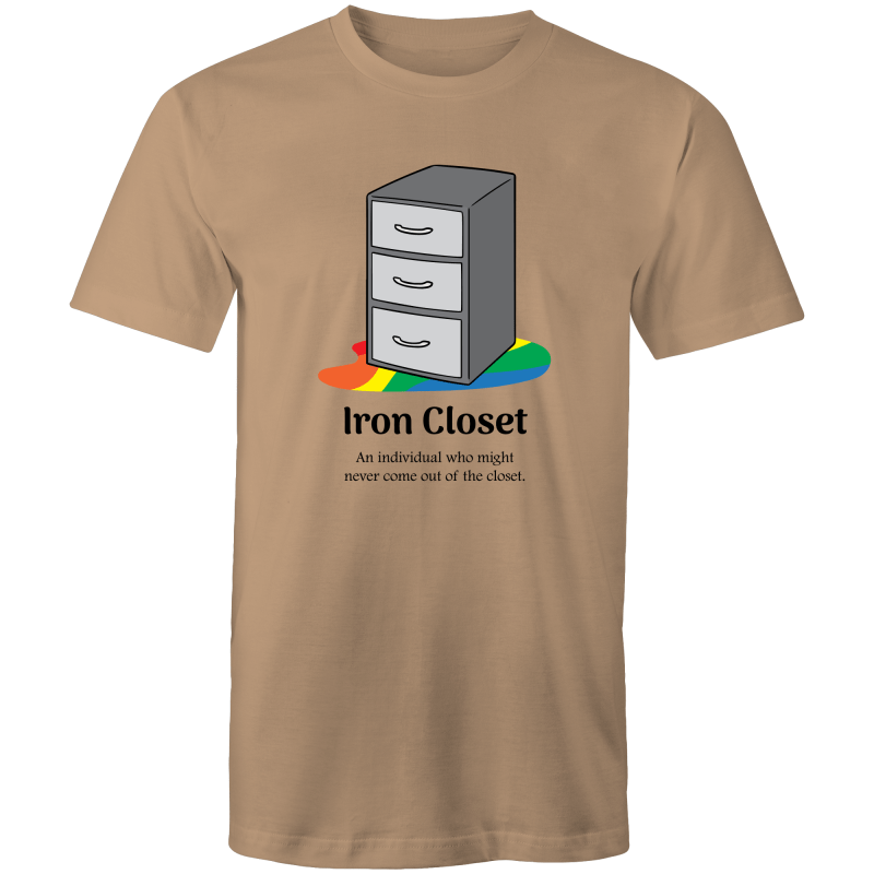 Dicktionary Iron Closet T-Shirt Unisex (LG046)