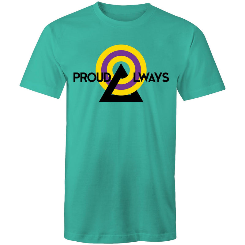 Intersex T-Shirt | #ProudAlways Unisex - RainbowRoo