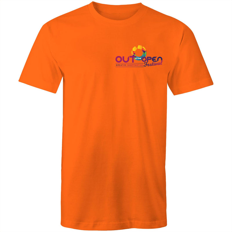 Out in the Open Festival Shepparton Logo T-Shirt Unisex (LG081)