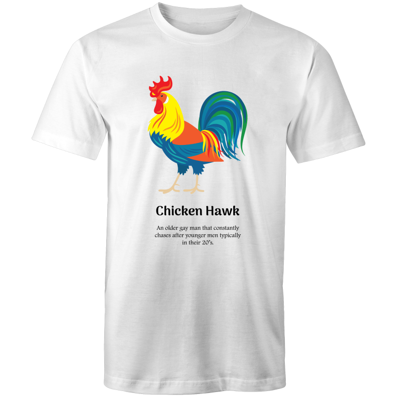 Gay T-Shirt | Dicktionary Hawk Male - RainbowRoo