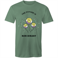 The Future is Non Binary Balloons T-Shirt Unisex (NB005)