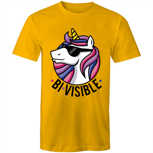 BiVisible Be Visible Bisexual T-Shirt Unisex (B005)