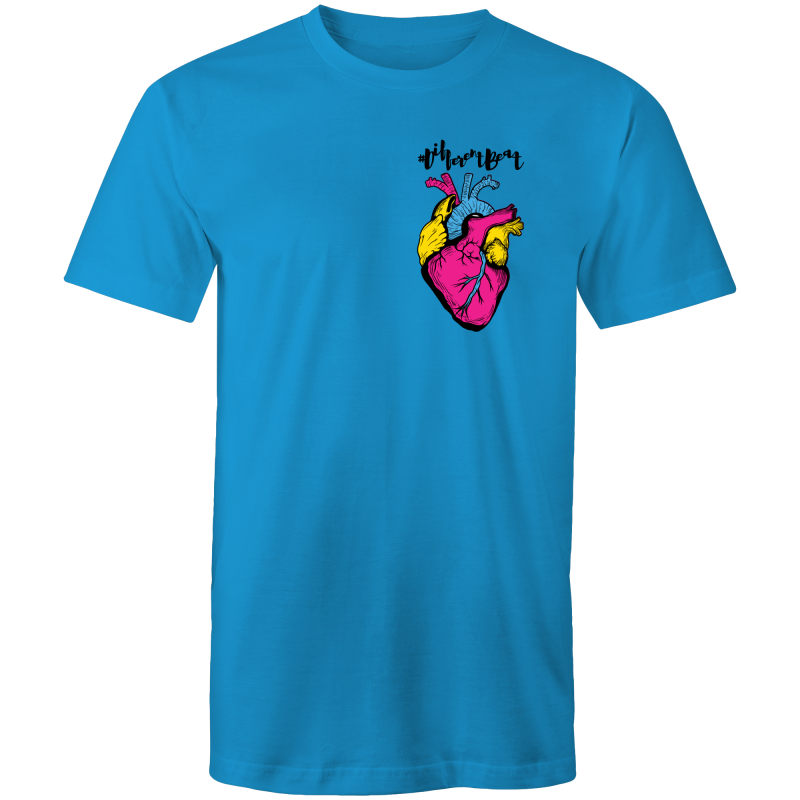 Pansexual T-Shirt | #DifferentBeat Unisex - RainbowRoo