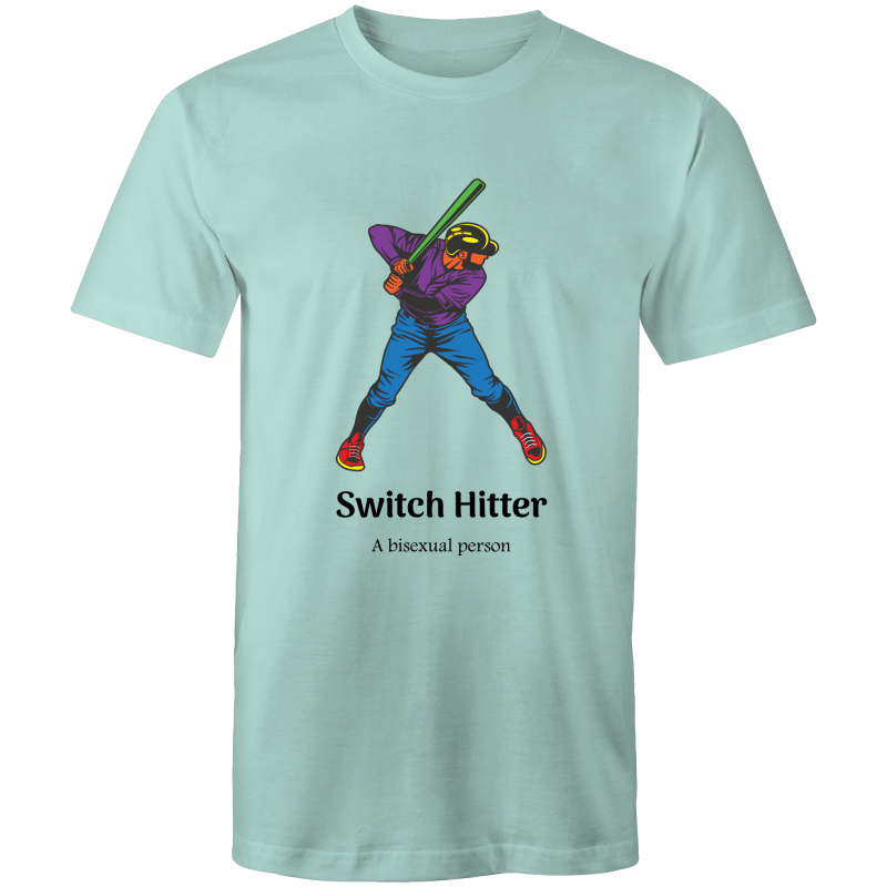 Bisexual T-Shirt | Dicktionary Switch Hitter Unisex - RainbowRoo