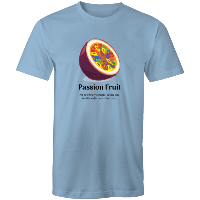 Dicktionary Passion Fruit T-Shirt Male - RainbowRoo