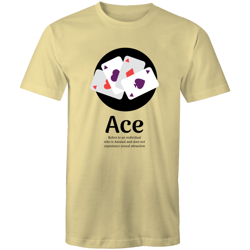 Asexual T-Shirt | Dicktionary Ace Unisex - RainbowRoo