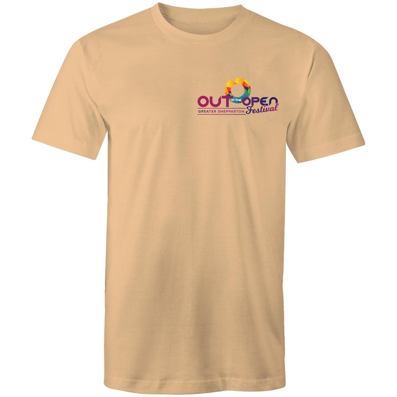 Out in the Open Festival Shepparton Double Sided T-Shirt Unisex (LG083)