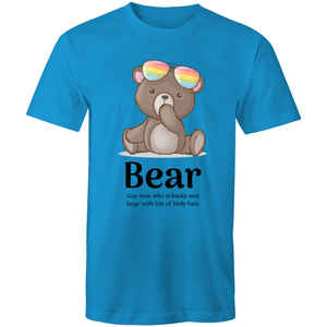 Gay T-Shirt | Dicktionary Bear - RainbowRoo