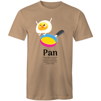 Pansexual T-Shirt | Dicktionary Pan Unisex - RainbowRoo