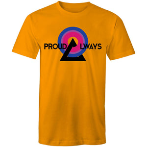 Proud Always Bisexual T-Shirt Unisex (B009)