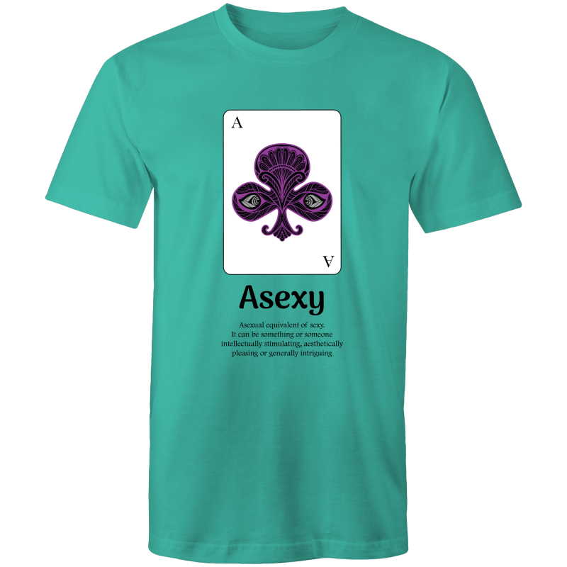 Asexual T-Shirt | Dicktionary Asexy Unisex - RainbowRoo