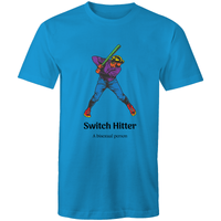 Dicktionary Switch Hitter T-Shirt Unisex - RainbowRoo