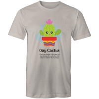 LGBT T-Shirt | Dicktionary Gay Cactus Unisex - RainbowRoo