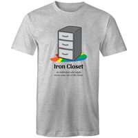 Dicktionary Iron Closet T-Shirt Unisex - RainbowRoo