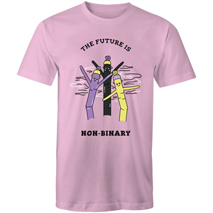 The Future is Non Binary Air Dancer T-Shirt Unisex (NB002)