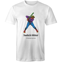 Dicktionary Switch Hitter Bisexual T-Shirt Unisex (B011)
