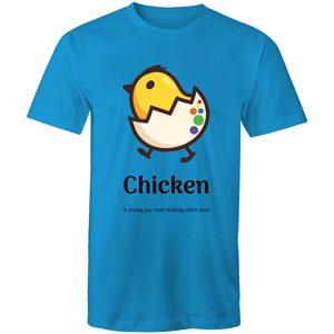 Gay T-Shirt | Dicktionary Chicken Male - RainbowRoo