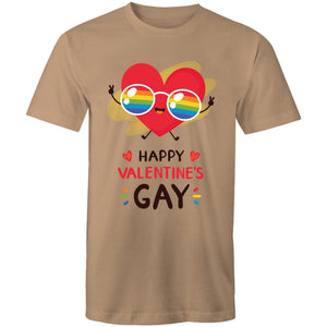 Happy Valentine's Gay T-Shirt Unisex (LG010)