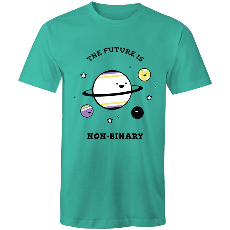 The Future is Non Binary Planets T-Shirt Unisex (NB009)