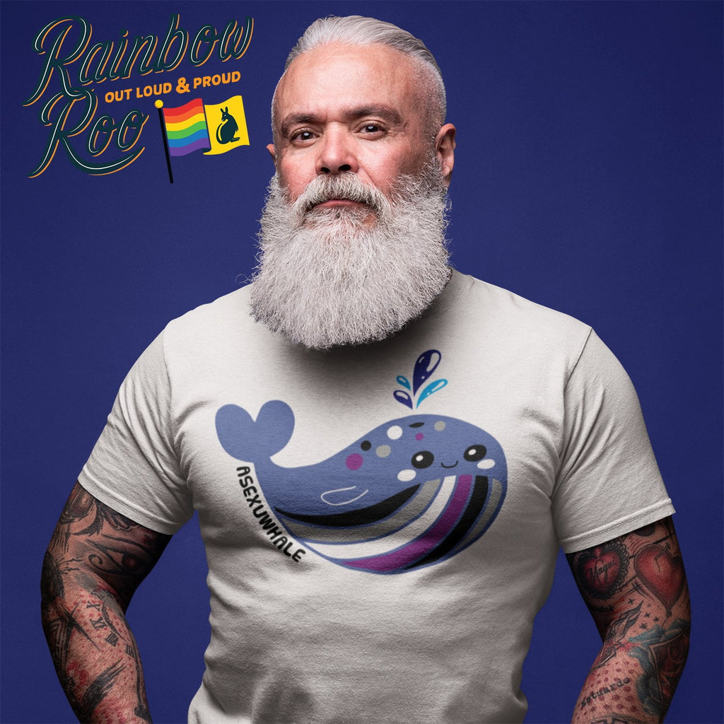 #Asexuwhale T-Shirt Unisex - RainbowRoo