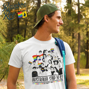 Australia Said Yes Commemorative T-Shirt Unisex (LG038)