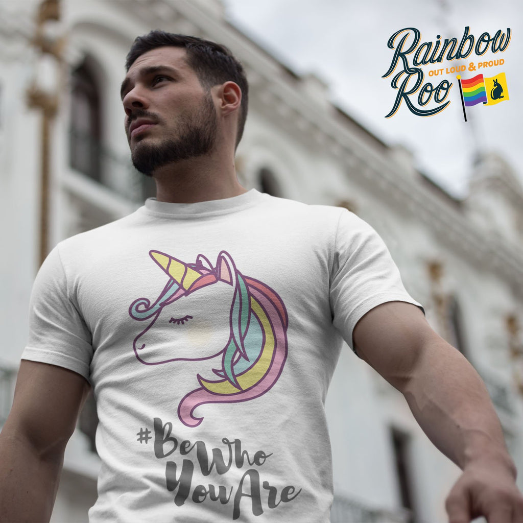 #BeWhoYouAre T-Shirt Male - RainbowRoo