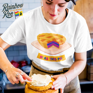Bi As This Pie T-Shirt Bisexual Unisex (B001)