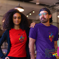 #DifferentBeat LGBT Flag Color T-Shirt Unisex - RainbowRoo