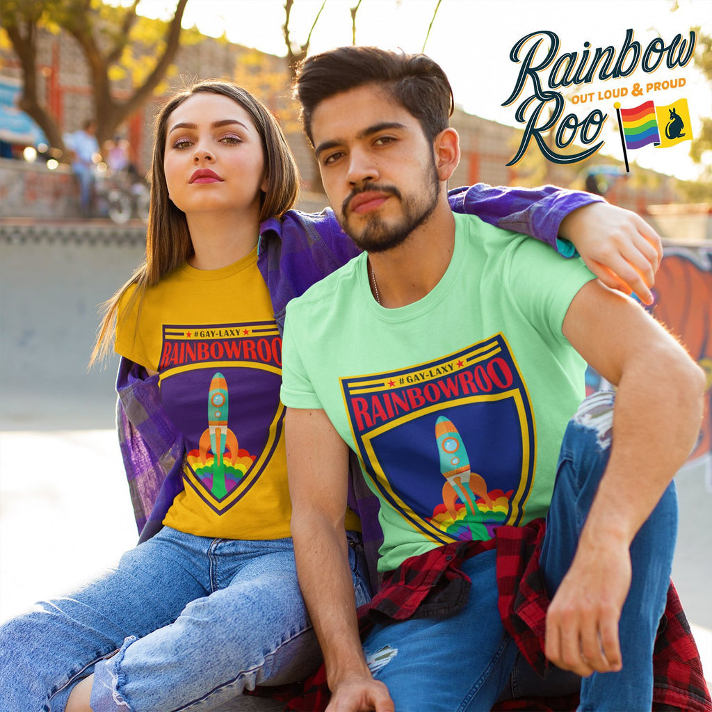 #Gaylaxy T-Shirt Unisex - RainbowRoo