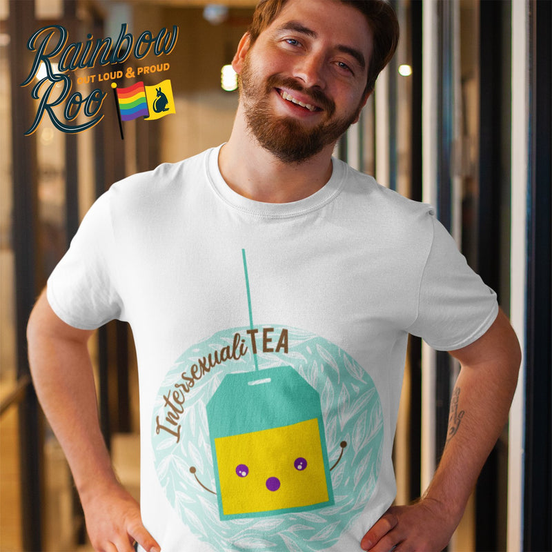 Intersex T-Shirt | #Intersexualitea Unisex - RainbowRoo