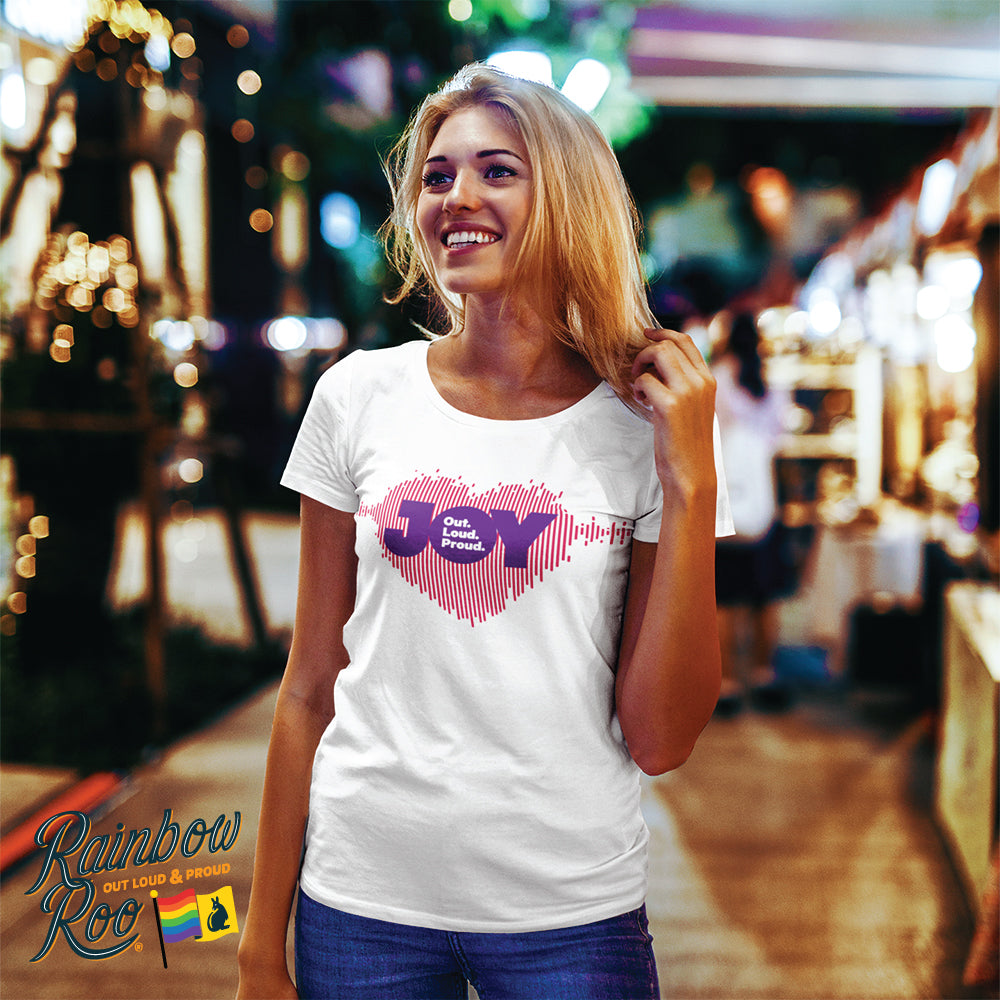 JOY 94.9 Heart Sound Wave T-Shirt Unisex (LG006)
