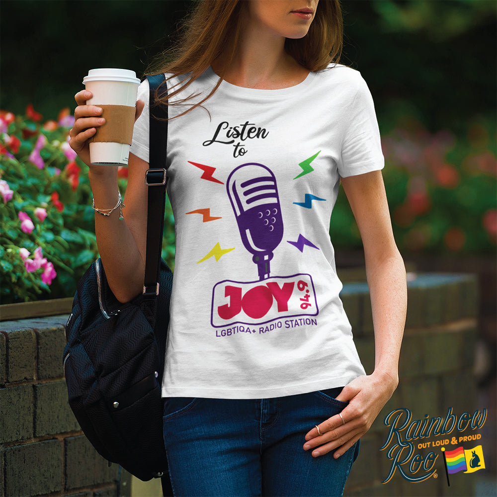 JOY 94.9 Listen to JOY 94.9 Microphone T-Shirt Unisex (LG007)