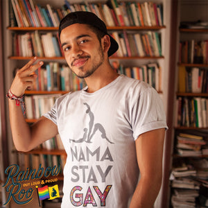 #NamaStayGay T-Shirt Male - RainbowRoo