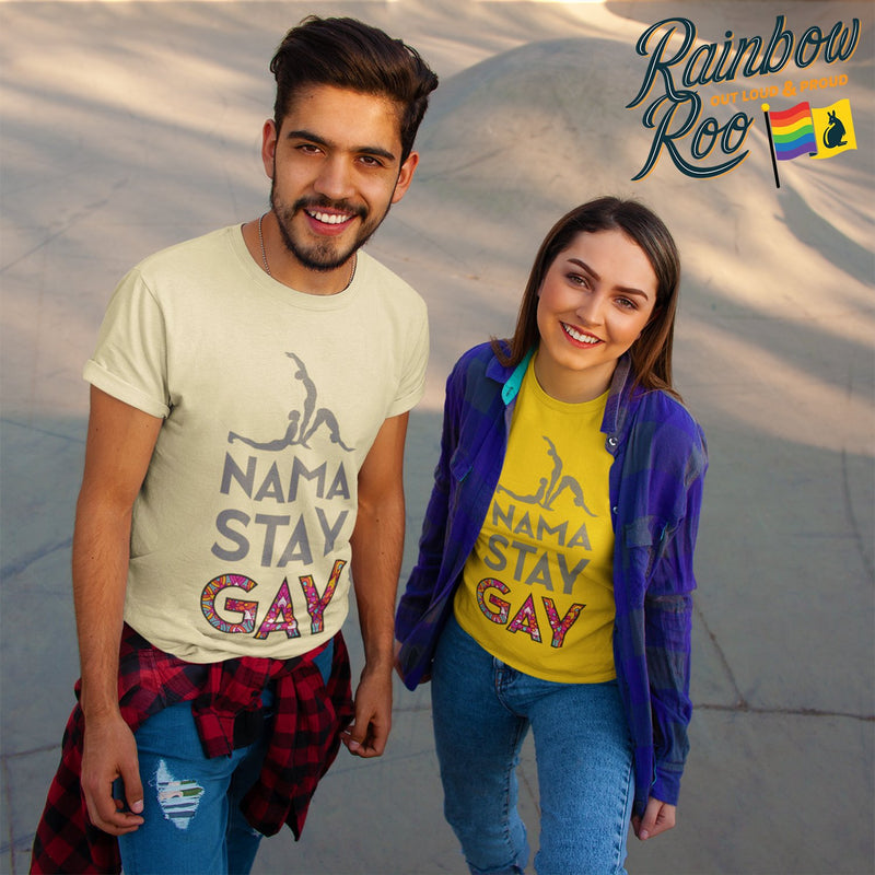 Nama Stay Gay T-Shirt Unisex (LG020)