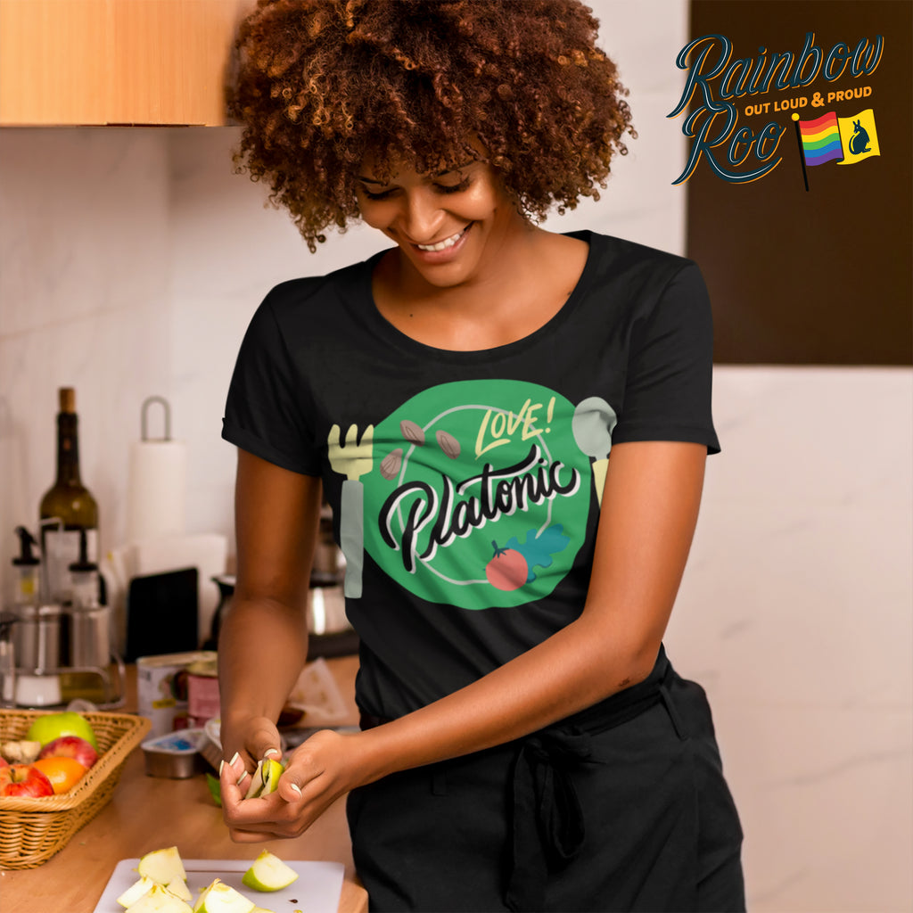 Aromantic Platonic Love T-Shirt Unisex (AS009)