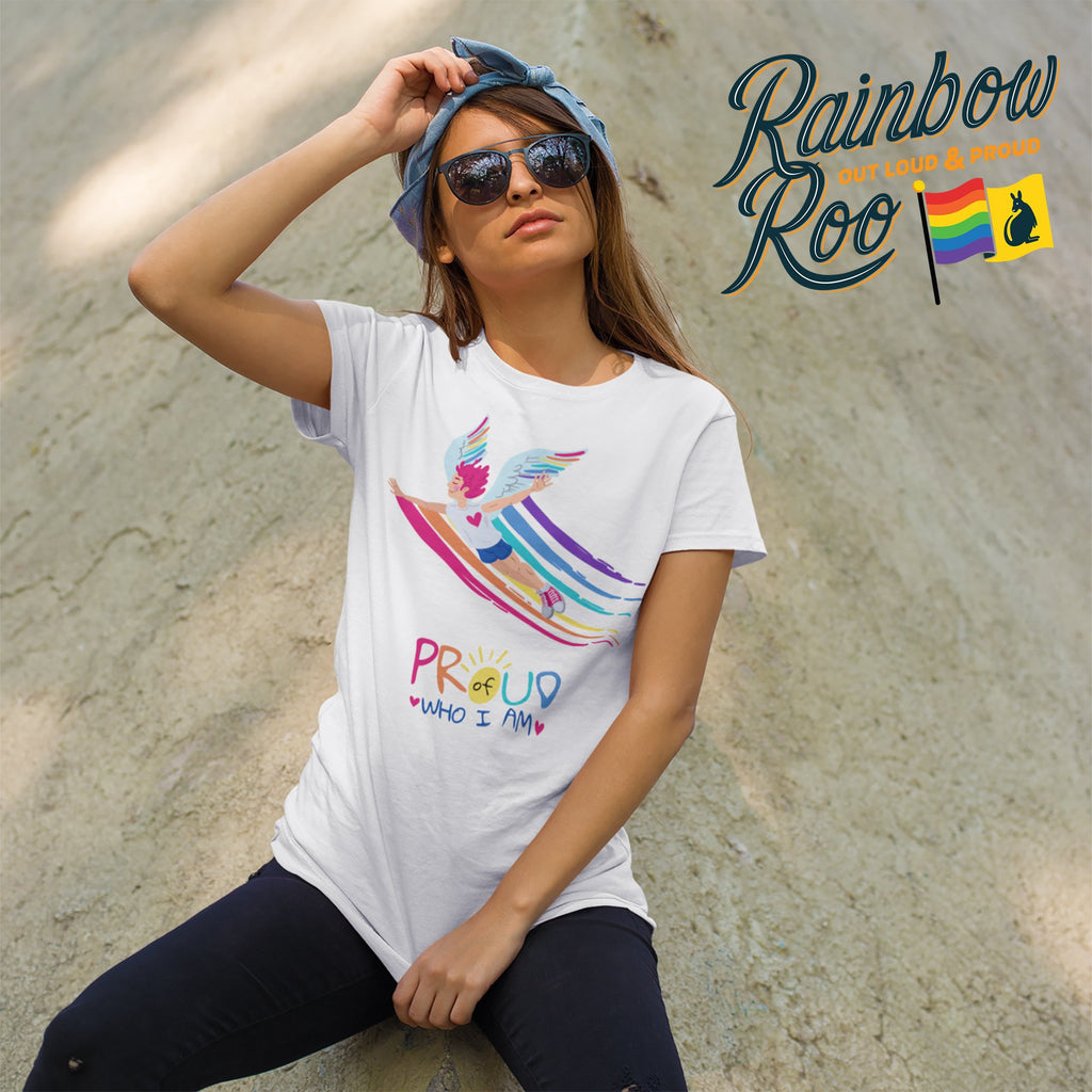 #Proud T-Shirt Unisex - RainbowRoo