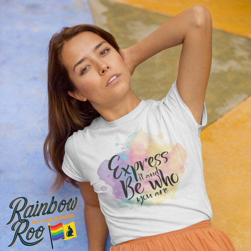 LGBT T-Shirt | Coming Out Quote Unisex - RainbowRoo