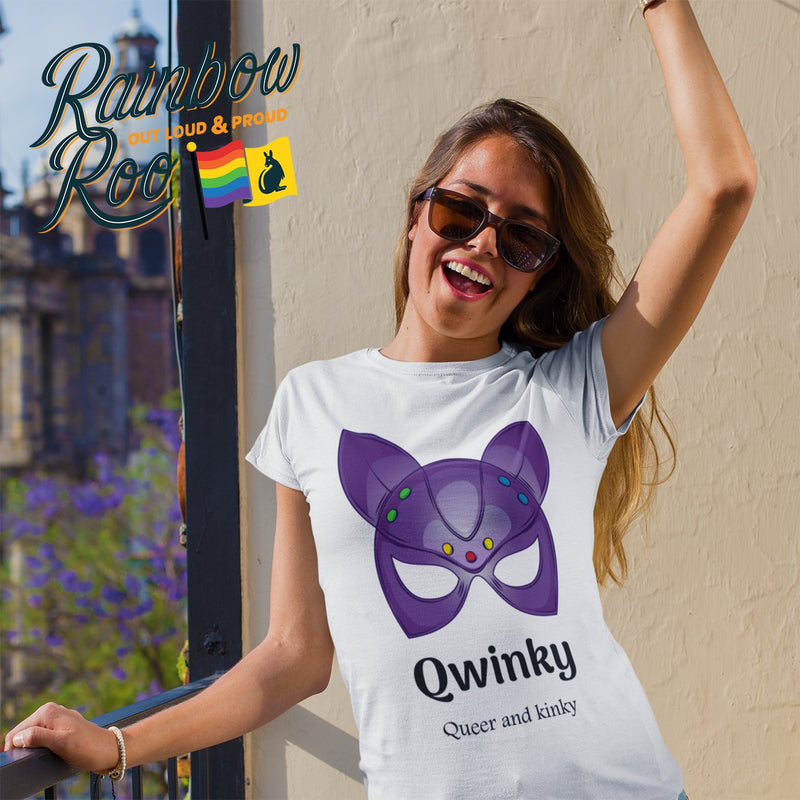LGBT T-Shirt | Dicktionary Qwinky Unisex - RainbowRoo