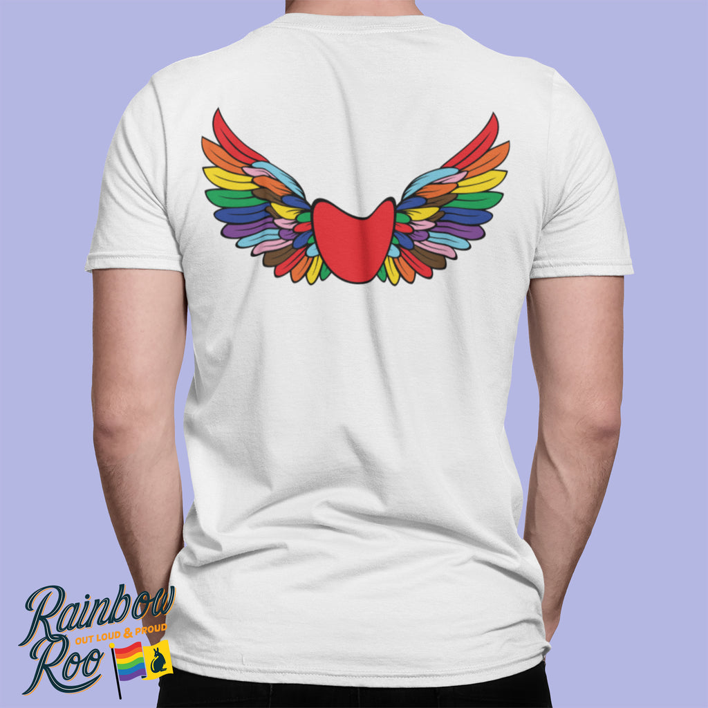 Tas Pride T-Shirt Unisex Double Sided (LG058)