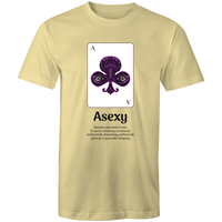 Dicktionary Asexy Asexual T-Shirt Unisex (AS008)