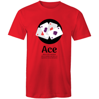 Dicktionary Ace Asexual T-Shirt Unisex (AS006)
