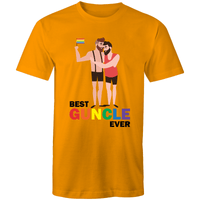 Gay T-Shirt | #Guncle Gay Uncle Unisex - RainbowRoo